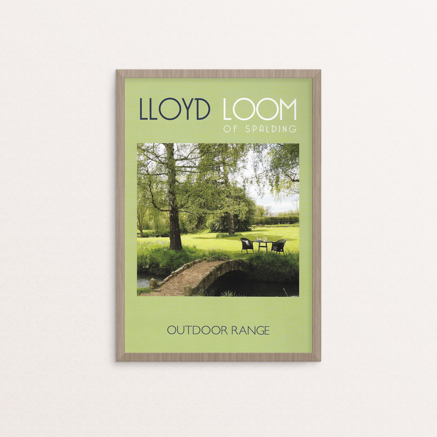 Lloyd Loom Outdoor Branding