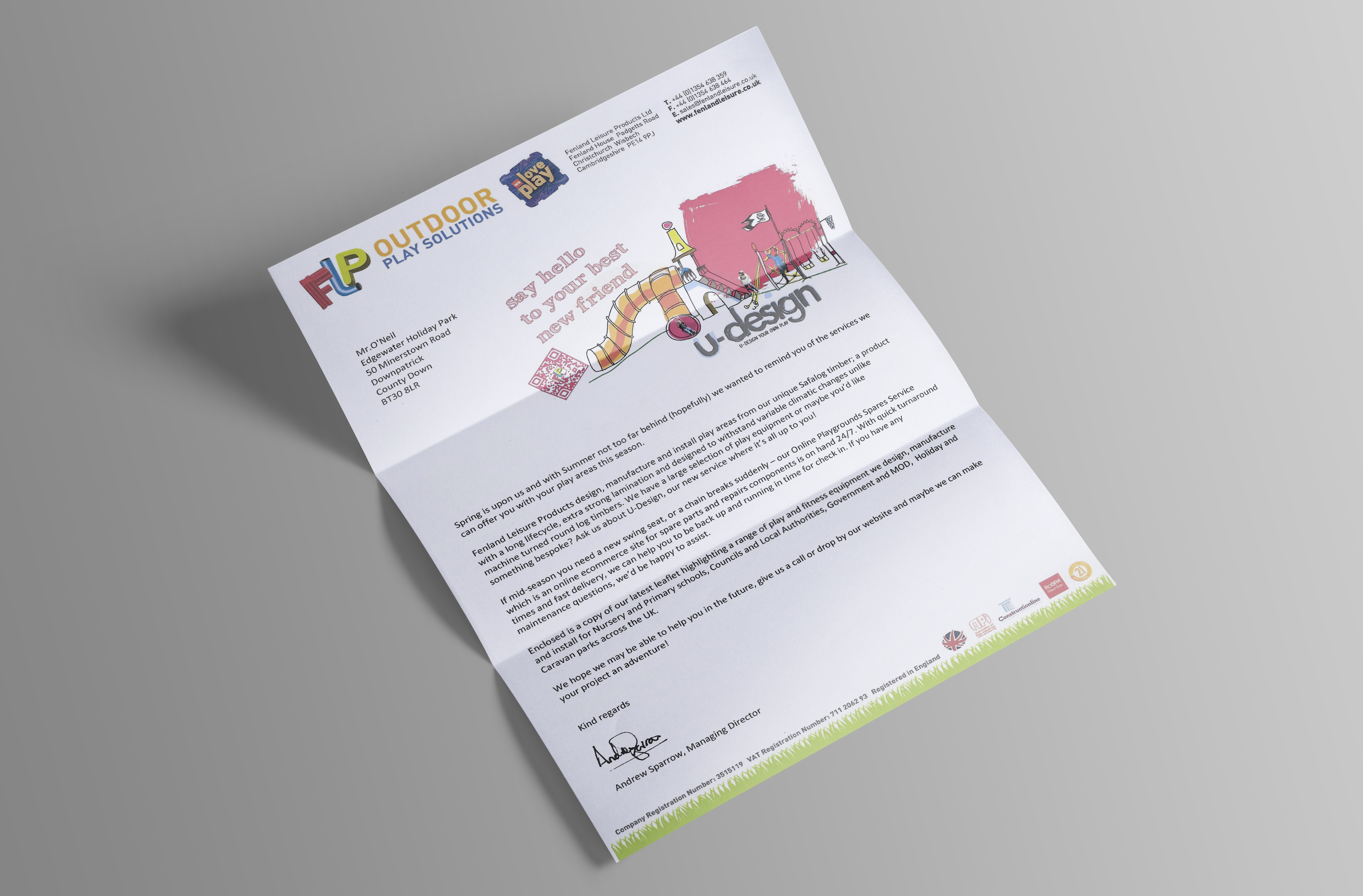 FLP Sales Letter Design