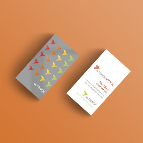 On Track Business Cards
