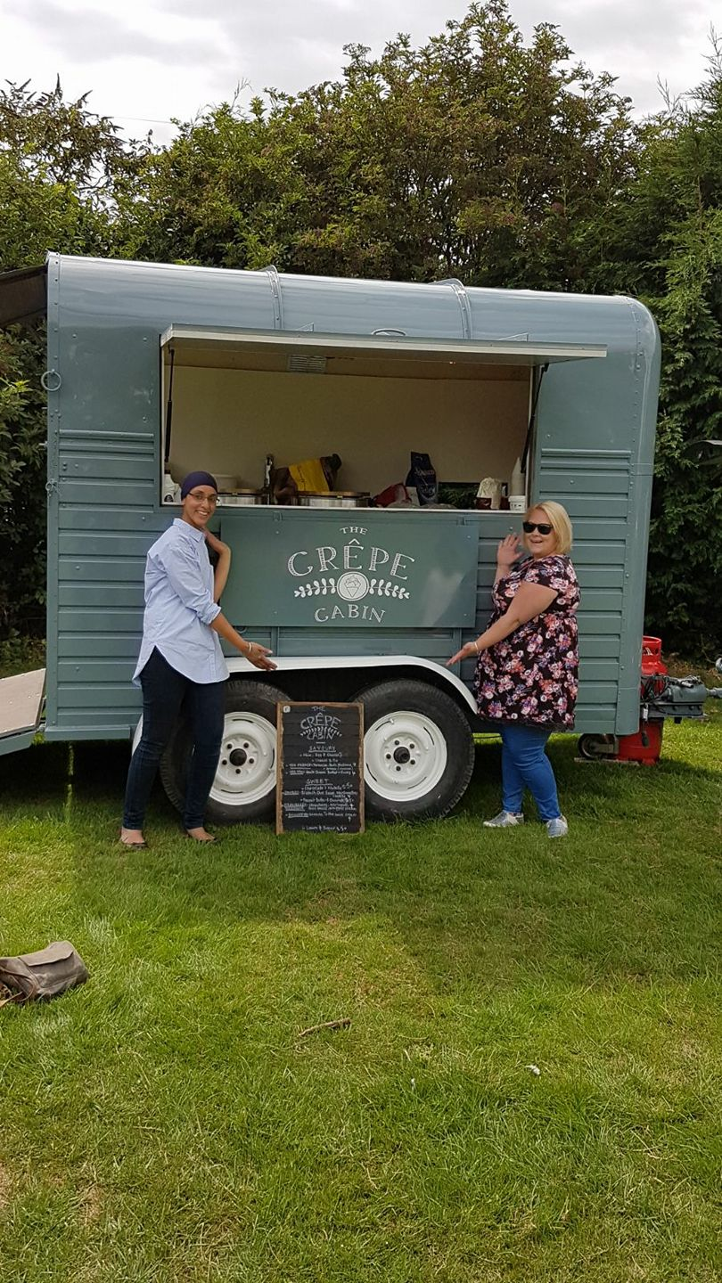 The Crepe Cabin - Trailer Branding
